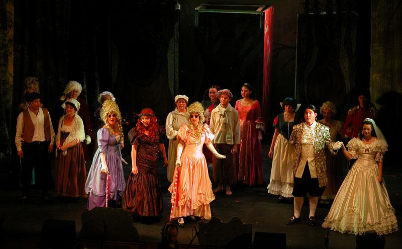 Into The Woods Sainsbury Singers chorus