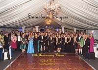 The Sainsbury Singers 75th anniversary dinner